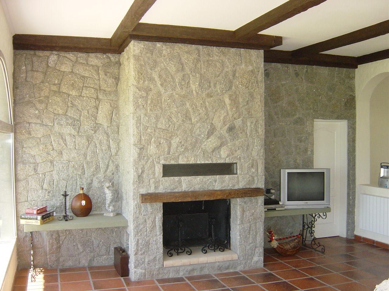 Antes y despu s remodelaciones ampliaciones arquitectos ve for Piedra barata para paredes