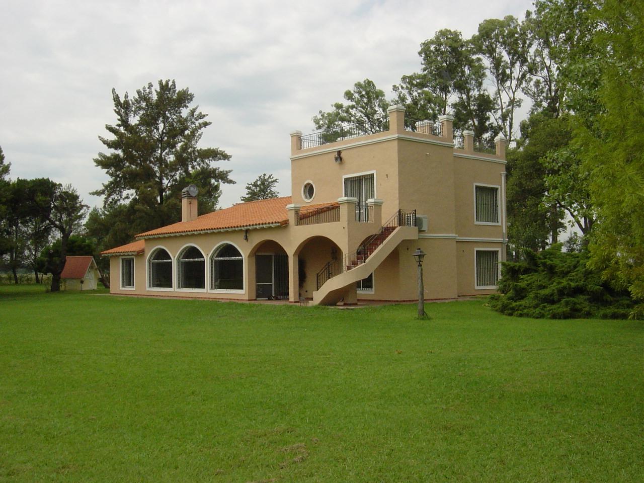 Construcci n de casa estilo campo en z rate obras for Construccion casas de campo